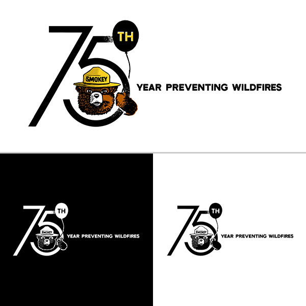 Smokey_75th_Logo-With-Tagline_Horizontal